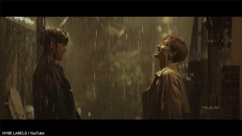 (左)SEVENTEEN ミンギュ(右)ウォヌ