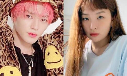 NCT テヨン、Red Velvet スルギ(右)