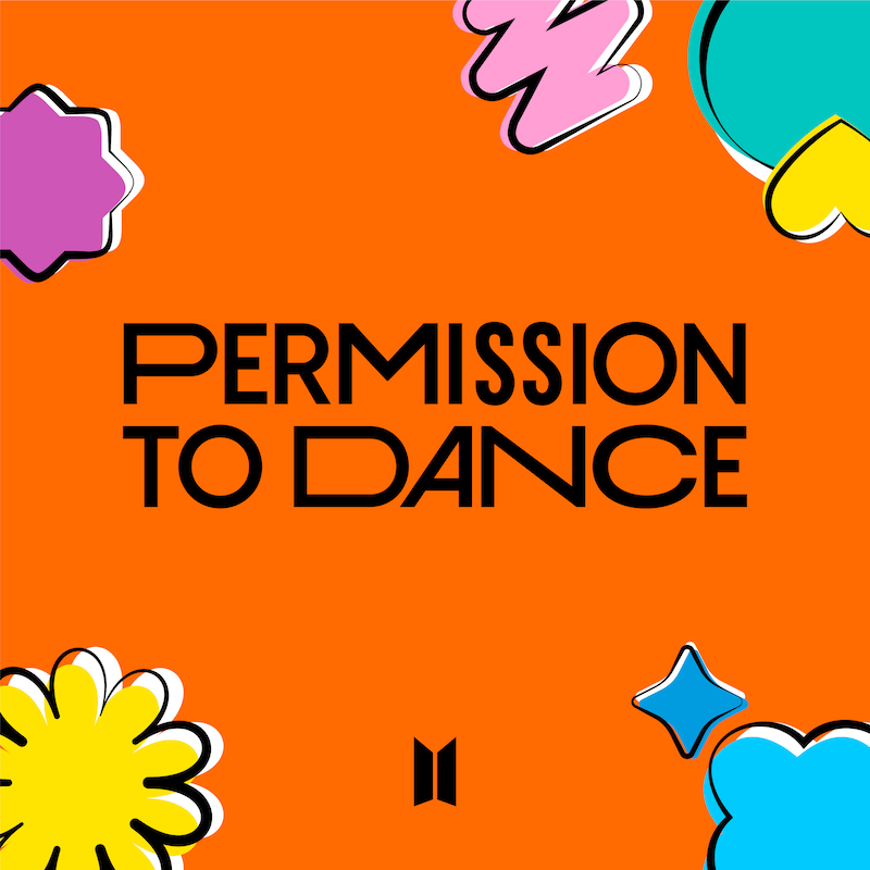 BTS「Permission to Dance」 / Photo by BIGHIT MUSIC
