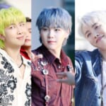 BTS RM、シュガ、J-HOPE(右)