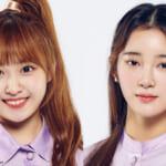 「Nizi Project」出身、「Girls Planet 999」に出演する リリカ(左)、ミウ(右)