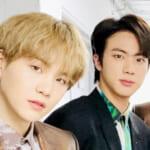 (左)BTS シュガ(右)ジン