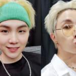 (左)BTS シュガ(右)J-HOPE