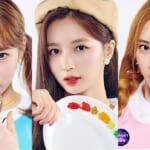「Girls Planet 999」に参加する Cherry Bullet(左から)ボラ、ジウォン、メイ