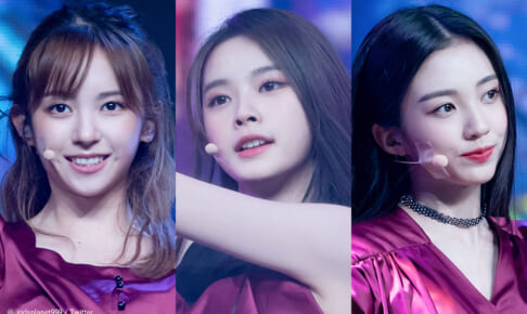 「Girls Planet 999」(左から)坂本舞白、ファン・シンチャオ、カン・イェソ