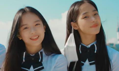 BTSの新曲「Permission to Dance」のMVに出演し、練習生ではないかと話題になった2人