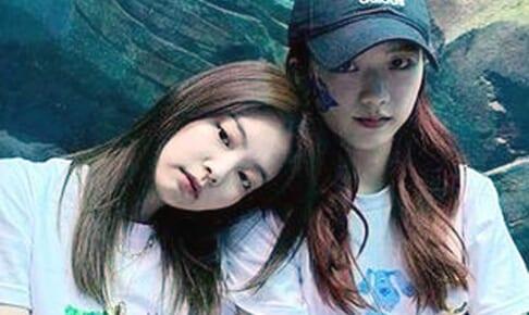 BLACKPINK ジェニー&ジス