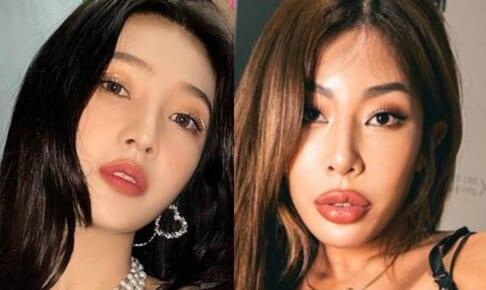 Red Velvet ジョイ(左)、Jessi(右)
