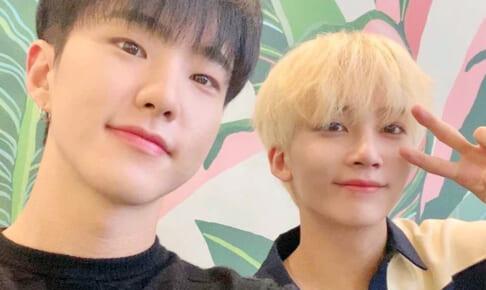 (左)SEVENTEEN ホシ(右)ジョンハン