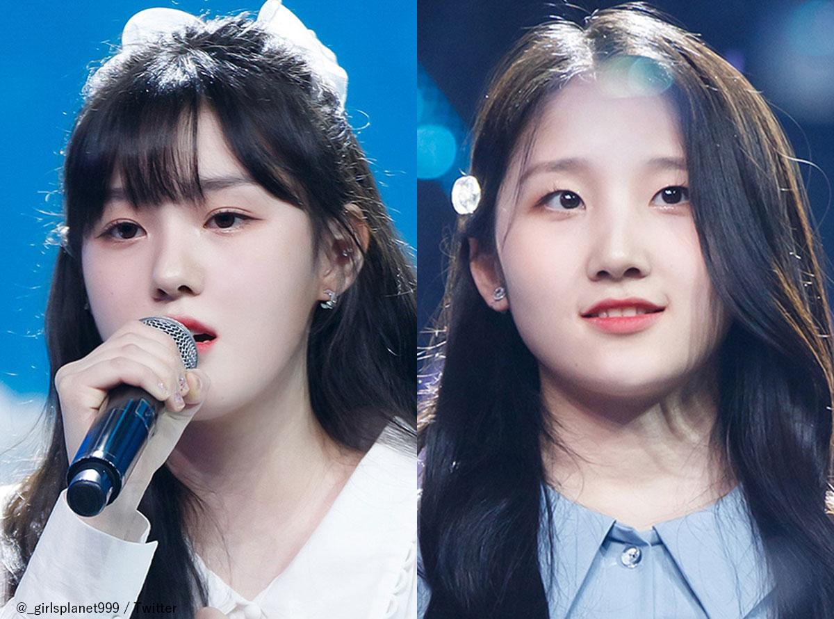 「Girls Planet 999」(左から)キム・チェヒョン、野仲紗奈(のなかしゃな)