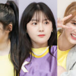 「Girls Planet 999」(左から)野仲紗奈、キム・チェヒョン、チョン・ジユン
