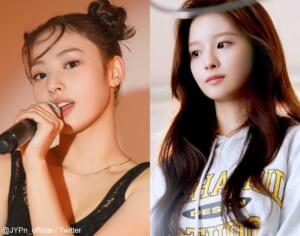 JYPn ジニ、ソルユン(右)