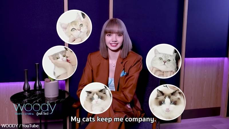 怖さを紛らわすために、常に愛猫と一緒にいると話す リサ
