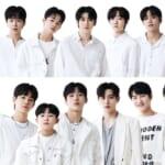 「LOUD」JYPデビューメンバー(上)、P NATIONデビューメンバー(下)