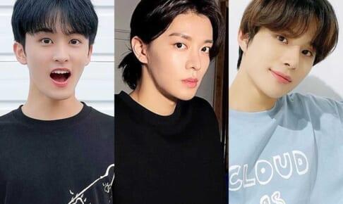 NCT マーク、ユウタ、ジョンウ(右)