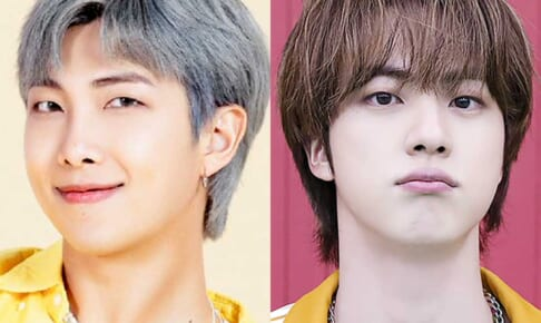 BTS RM(左)ジン(右)