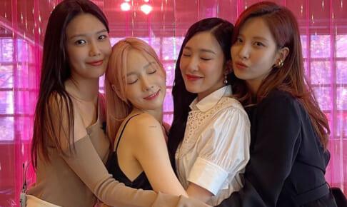 少女時代(左から)スヨン、テヨン、ティファニー、ソヒョン