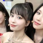 TWICE(左から)ダヒョン、モモ、ミナ