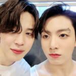 (左)BTS ジミン(右)ジョングク