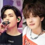 BTS V(左)J-HOPE(右)